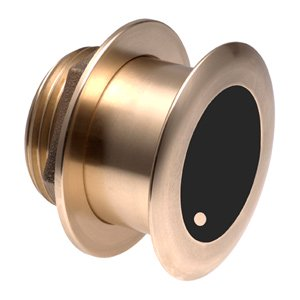 Bronze Thru-hull Mount Wide Beam Transducer with Depth & Temperature (20° tilt, 8-pin) – Airmar B175HW
