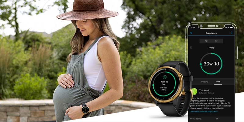 PREGNANCY TRACKING IN GARMIN CONNECT™